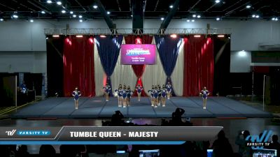 Tumble Queen - Majesty [2021 L2 Junior - Small Day 2] 2021 The American Spectacular DI & DII
