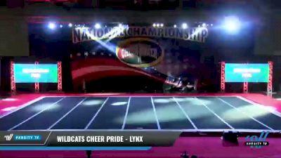 Wildcats Cheer Pride - Lynx [2021 L2 Senior Day 1] 2021 ACP: Midwest World Bid National Championship