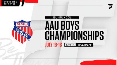 Replay: Orange County: Courts 6 - 2021 AAU Boys World Champs (15U-17U and 20U) | Jul 16 @ 9 AM