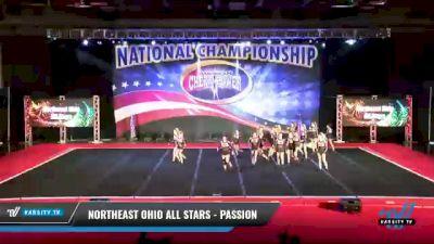 Northeast Ohio All Stars - Passion [2021 L4 Junior - Small Day 1] 2021 ACP: Midwest World Bid National Championship