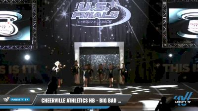 CheerVille Athletics HB - Big Bad Wolves [2021 L1.1 Tiny - PREP Day 1] 2021 The U.S. Finals: Louisville
