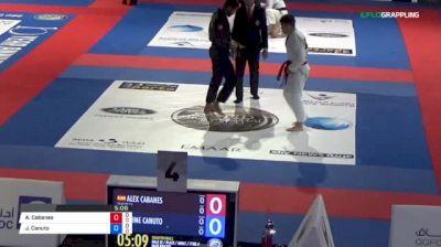 Alex Cabanes vs Jaime Canuto 2018 Abu Dhabi World Professional Jiu-Jitsu Championship