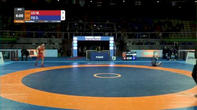57 kg 3rd Place - Daton Fix, USA vs Minghu Liu, CHN