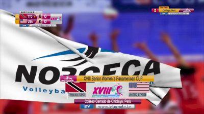 NORCECA: United States vs Trinidad & Tobago