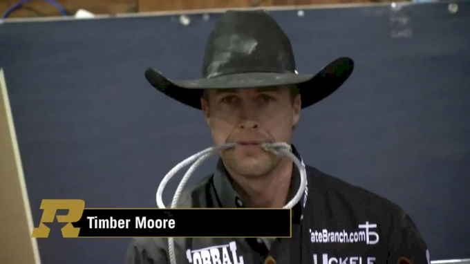 Timber Moore Awaits Progressive Round