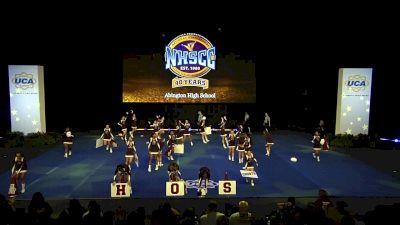 Abington High School [2020 Super Varsity Non Tumbling Semis] 2020 UCA National High School Cheerleading Championship