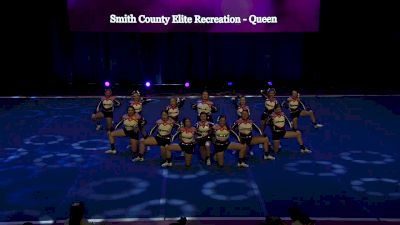 Smith County Elite Recreation - Queen [2020 L2 Performance Rec - Non-Affiliated (18Y - Small)] 2020 The Quest