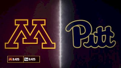 2019 Pittsburgh vs Minnesota | Big Ten Women's Gymnastics