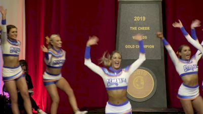 The Stingray Allstars - Marietta - Orange [2019 L5 Senior Large All Girl Semis] 2019 The Cheerleading Worlds