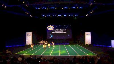 Alamo Heights High School [2020 Junior Varsity Non Tumbling Game Day Semis] 2020 UCA National High School Cheerleading Championship