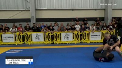 Hunter Colvin Catches Triangle Armbar From The Back