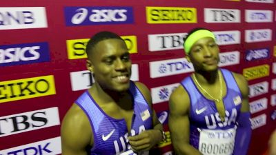 US Men Get Gold & American Record In 4x1