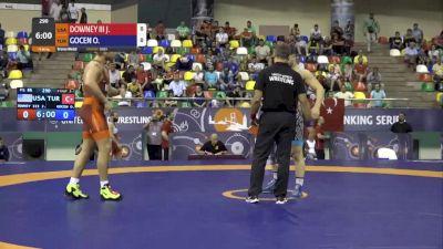 86 kg Bronze: Patrick Downey, USA vs Osman Gocen, Turkey
