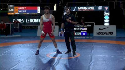 77KG SF, Peyton Burke WALSH, USA vs Yunus Emre BASAR, TUR