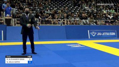 RAYMOND ALEXANDER GRANDY vs NIKOLAUS ADLAI GATES 2021 World IBJJF Jiu-Jitsu No-Gi Championship