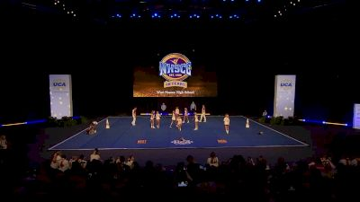 West Nassau High School [2020 Small Coed Non Tumbling Semis] 2020 UCA National High School Cheerleading Championship