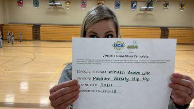 Windsor High School [Varsity - Hip Hop] 2021 UDA Spirit of the Midwest Virtual Challenge