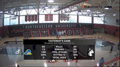 Replay: Delaware vs Northeastern (March 14, 2021)