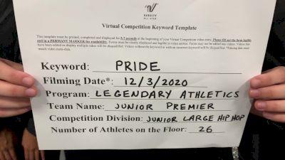 Legendary Athletics - Junior Premier [Junior - Hip Hop] 2020 WSF All Star Cheer & Dance Virtual Championship