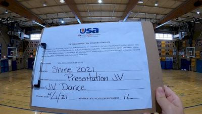 Presentation High School [Dance Junior Varsity] 2021 USA Spirit & Dance Virtual National Championships