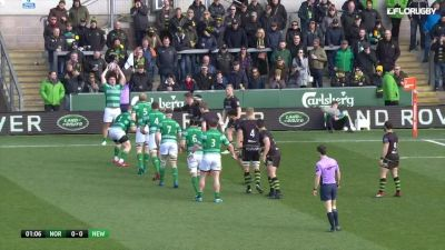 Premiership Rugby Cup SF Highlight Northampton vs Newcastle