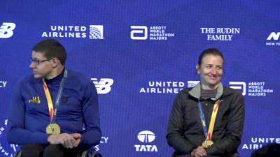 NYC Marathon Wheelchair Champions Press Conference