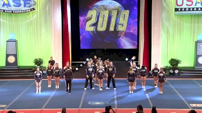 Coastal Wave Elite - Rays (Canada) [2019 L6 International Open Small Coed Finals] 2019 The Cheerleading Worlds