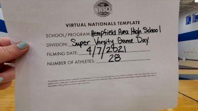 Hempfield Area High School [Virtual Super Varsity - Game Day Semi Finals] 2021 UCA National High School Cheerleading Championship