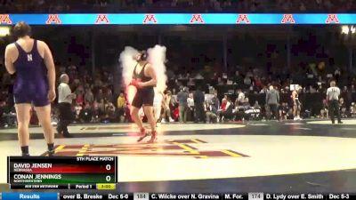 285 5th, Conan Jennings, Northwestern vs David Jensen, Nebraska