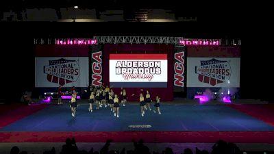 Alderson Broaddus University [2019 Intermediate Small Coed II Finals] 2019 NCA & NDA Collegiate Cheer and Dance Championship