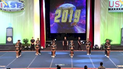 Global Elite Cheer & Dance - Gravity (Costa Rica) [2019 L5 International Open Large Coed Finals] 2019 The Cheerleading Worlds