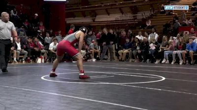 184lbs - Billy Janzer (Rutgers) vs Connor Craig (Pitt-Johnstown)