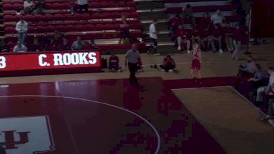 133 lbs Jake Blaha, SIU Edwardsville vs Cayden Rooks, Indiana
