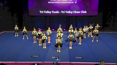 Tri Valley Youth - Tri Valley Cheer Club [2020 L2 Traditional Rec - Non-Affiliated (14Y)] 2020 The Quest