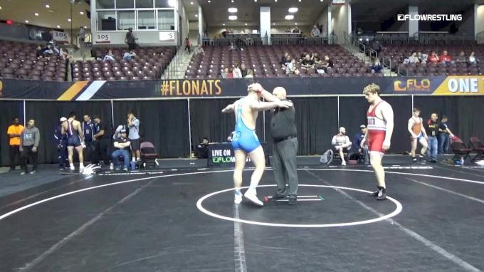 110 Quarterfinals, Braydon Erb, CIA vs Braxton Mikesell, Inland