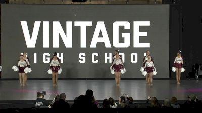 Vintage High School [2020 Small Varsity Pom Finals] 2020 NDA High School Nationals