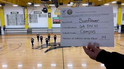 Campus High School [Division III Dance] 2020 KSHSAA Game Day Spirit Virtual Showcase