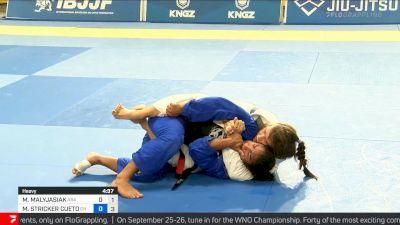 Pressure Leads To Short Choke Finish for Maria Malyjasiak