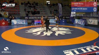 53 kg - Jacarra Winchester, USA vs Marina Rueda, Spain
