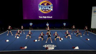 Tate High School [2021 Small Junior Varsity Finals] 2021 UCA National High School Cheerleading Championship
