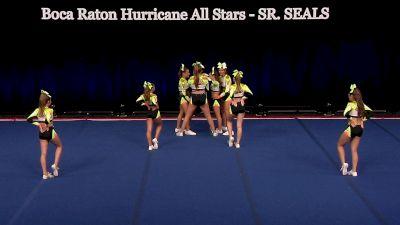 Boca Raton Hurricane All Stars - SR. SEALS [2021 L4.2 Senior - Small Wild Card] 2021 The D2 Summit