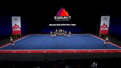 Milwaukee Reign All Star Cheer - Legacy [2021 L3 Junior - Small Wild Card] 2021 The D2 Summit