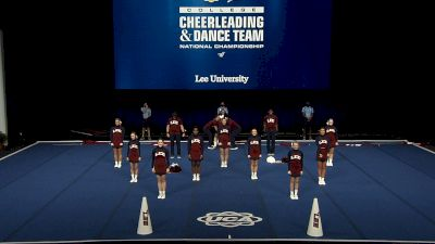 Lee University [2021 Small Coed Division I Finals] 2021 UCA & UDA College Cheerleading & Dance Team National Championship