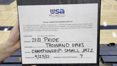 Thousand Oaks High School [Jazz Varsity - Small] 2021 USA Spirit & Dance Virtual National Championships