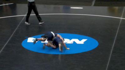 157 m, Brady Berge, Penn State vs Andrew Cerniglia, Navy