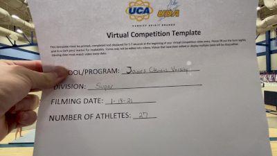 James Clemens High School [Super Varsity] 2021 UCA January Virtual Challenge