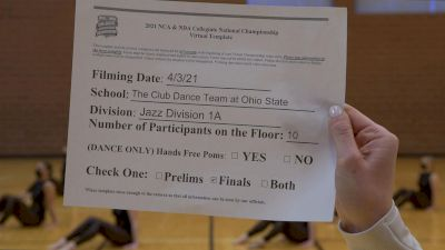 The Club Dance Team At Ohio State [Virtual Jazz Division IA Finals] 2021 NCA & NDA Collegiate Cheer & Dance Championship