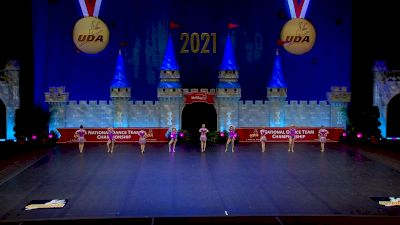 World Class All Star Dance - Dazzlers [2021 Mini - Jazz Semis] 2021 UDA National Dance Team Championship
