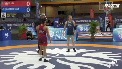 50 kg Quarterfinal - Sarah Hildebrandt, USA vs Julie Sabatié, France