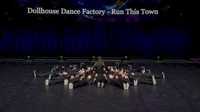 Dollhouse Dance Factory - Run This Town [2021 Senior Large Hip Hop Finals] 2021 The Dance Worlds